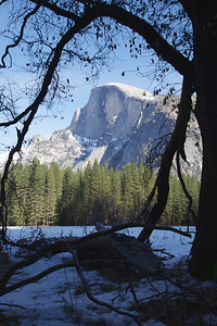 YOS-130224-0001 Half Dome in Winter