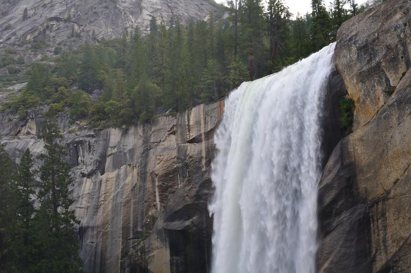 Near the top of Vernal Falls