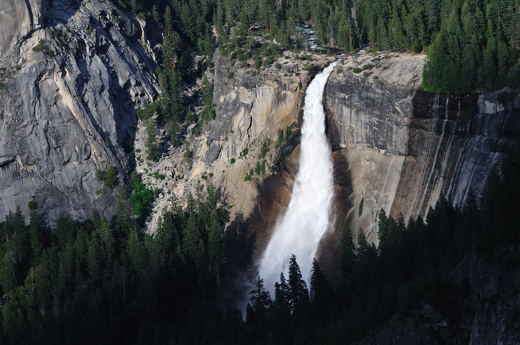 Nevada Falls from Glacier Point overlook