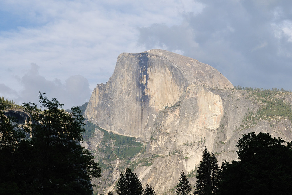 Half Dome late in the afternoon