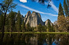 A nice view in Yosemite Valley.