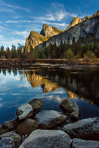 Yosemite National Park - Three Brothers