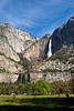 Both Upper and Lower Yosemite Falls are visible in this image.