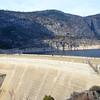 Hetch Hetchy Dam, Yosemite National Park, CA, January 2014.