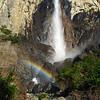 Bridalveil Falls, Yosemite National Park, CA, March 2012.