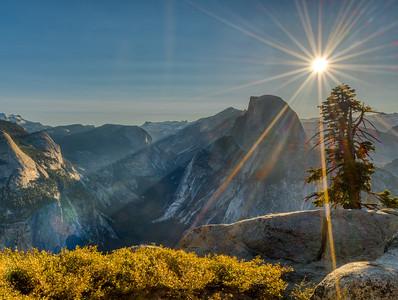 Glacier Point Sunburst