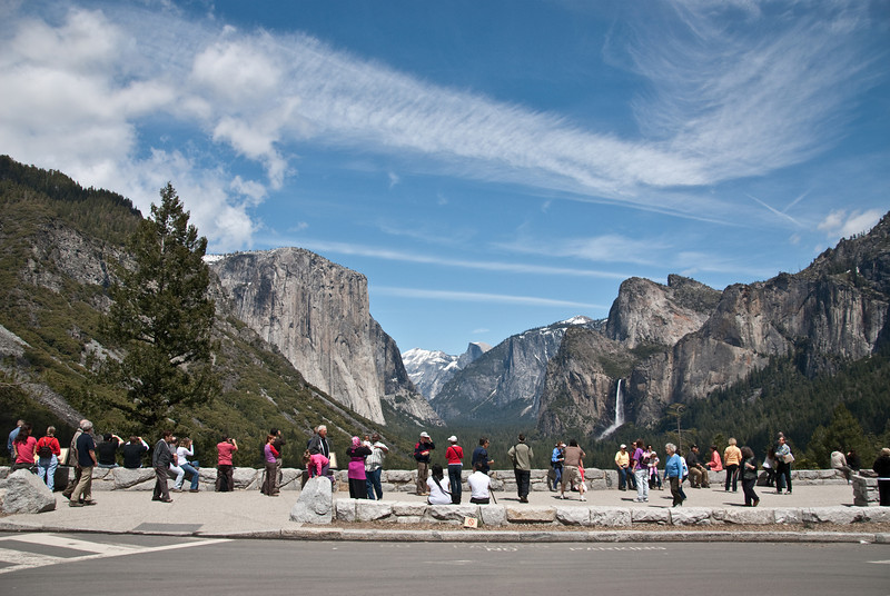 "One of the best views is at the ""Tunnel View"" overlook.  As you can see, it is a great place to capture beautiful images of Yosemite Valley."