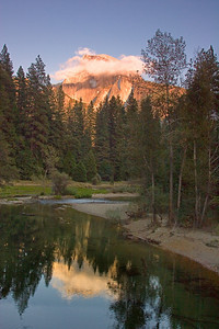 Half Dome at Sunset, Yosemite National Park
