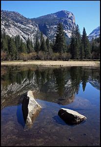 Mirror Lake, North Dome Reflections
