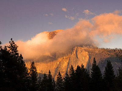 Half Dome at Sunset, Yosemite National Park