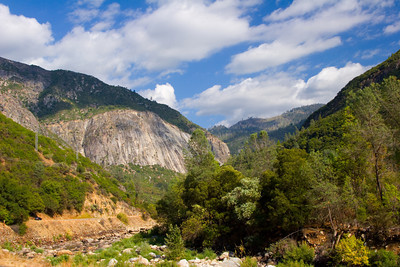 Merced River Valley, Yosemite National Park