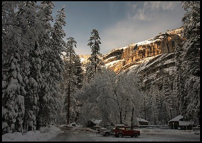 Winter Morning at Camp Curry
