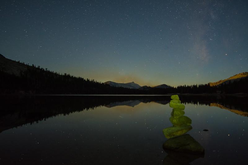 Tenya Lake Cairn