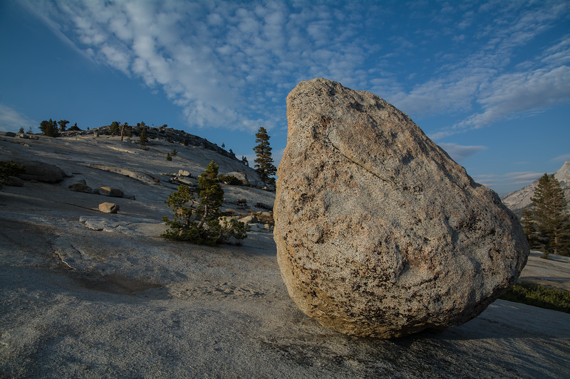 Olmsted Point Boulder