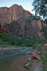 The Virgin River at the Temple of Sinawava in Zion National Park
