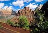 Cyclists in Zion National Park, Utah 1a