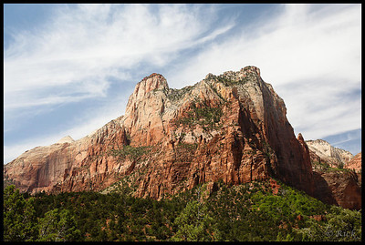 The Court of the Patriarchs, Zion National Park