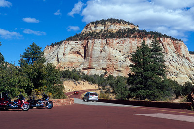The East Entrance To Zion National Park