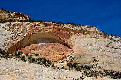 Blind Arch Slick Rock Formation near the east entrance