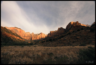 Sunrise, Temples and Towers of the Virgin, Zion National Park