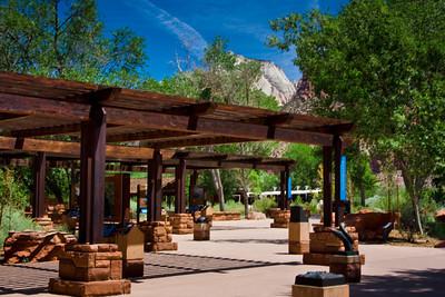 Visitors Center, Zion National Park, Utah