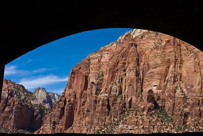 Inside the Zion-Mt. Carmel Tunnel