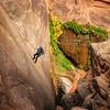 Descending Mystery Canyon