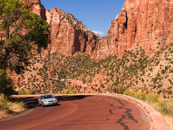 Mount Carmel Road, Zion National Park, Utah