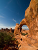 "Double ""O"" Arch, Arches National Park"