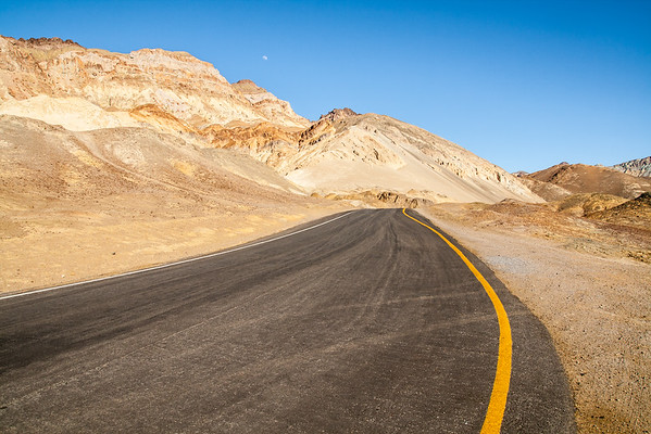 Artist's Drive at Death Valley