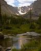 Taylor Glacier over Pond, Rocky Mountain National Park