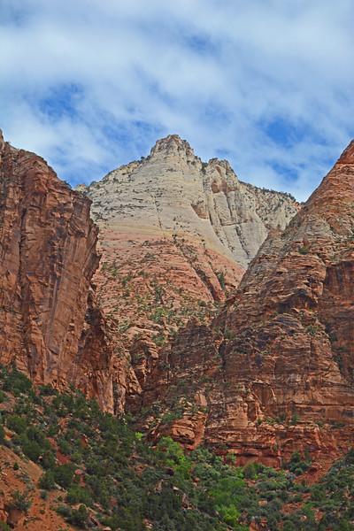 Beautiful Zion National Park,  Southwestern Utah, U.S.A..