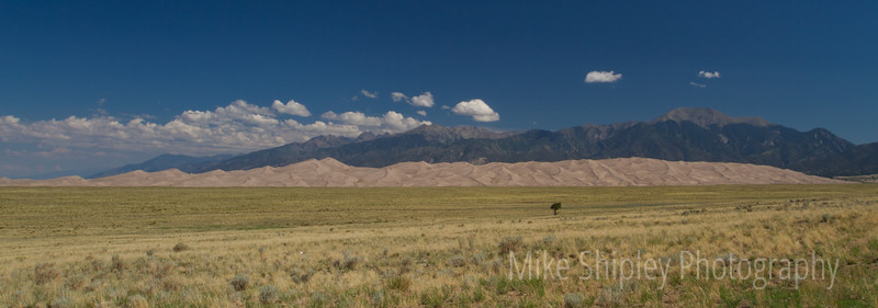 Dunes Pano, Great Sand Dunes National Park