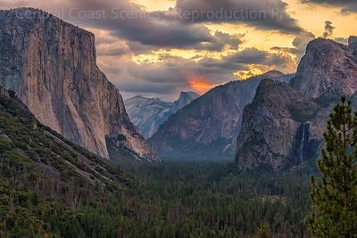 Yosemite Valley, Dawn 3