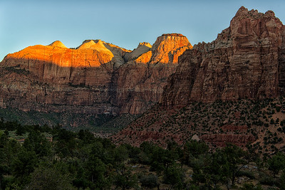 Zion Valley Sunrise Series, Number 4