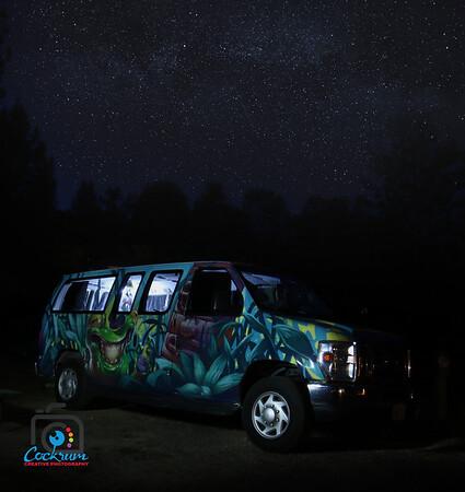 Night Sky, Yosemite National Park