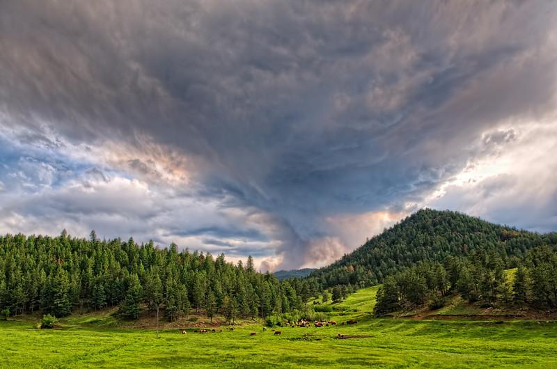 Wildfire Season in the Colorado Rockies