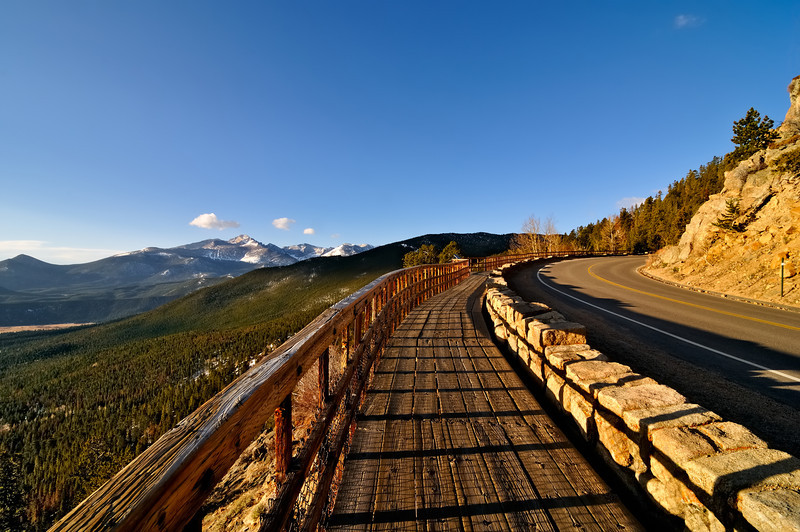 The Many Parks Curve at Rocky Mountain National Park