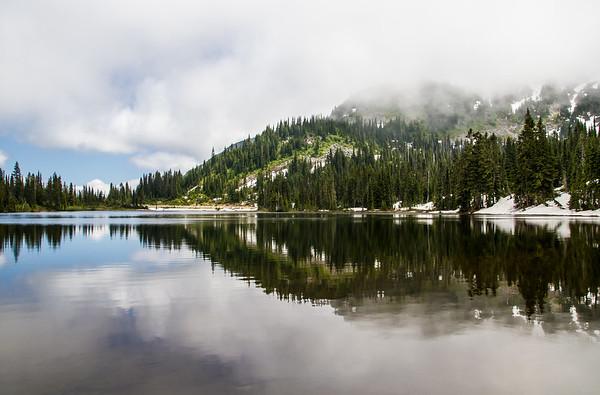 Reflecting Lake at Mt. Rainier