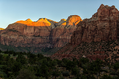 Zion Valley Sunrise Series, Number 2