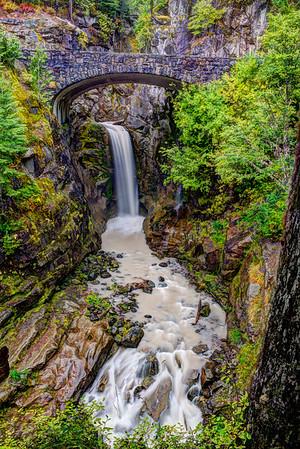 Christine Falls - Mt. Rainier National Park