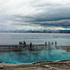 Dreamy Yellowstone Lake