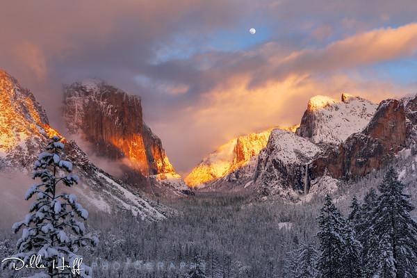 Winter Magic, Yosemite Valley