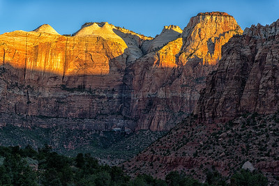 Zion Valley Sunrise Series, Number 5