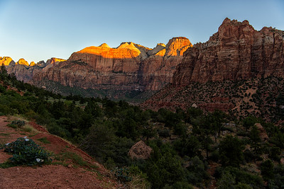 Zion Valley Sunrise Series, Number 3