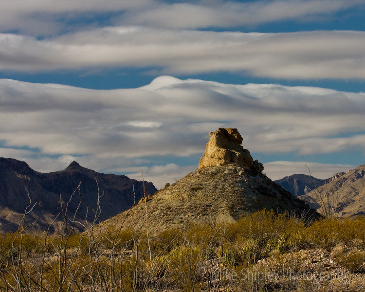 Marshmello Clouds, Big Bend National Park