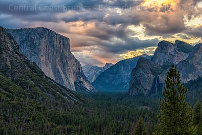 Yosemite Valley, Dawn 8