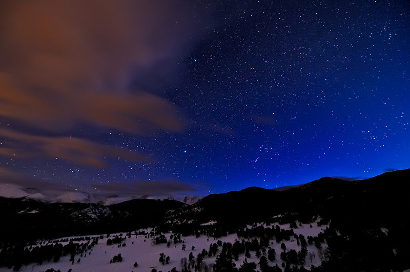 Orion Goes Hiking in the Rockies