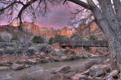 Zion National Park at Sunrise