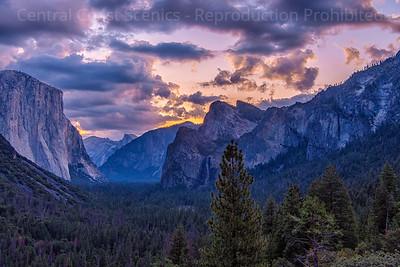Yosemite Valley, Dawn 2